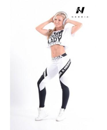 legging bianco e nero nebbia in vendita on line. leggins push up per il tuo gluteo. effetto gluteo sodo