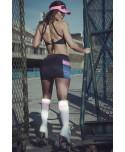 coordinato superhot con shorts e prendisole. minigonna apposta allo shorts per essere sexy ma vestire comode.