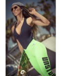 Pantacollant verde fluo' Superhot da donna. Dal brasile la moda fitness piu' moderna con tecnologie insuperabili di filatura