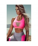 Top fit brand pink fuxia Superhot: contenimento del seno e comfort in movimento