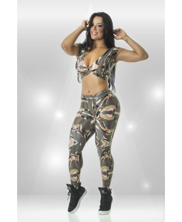 TOP CROPPED JUNGLE CANOAN