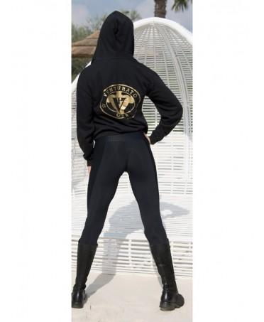 legging party cajubrasil su www.fantaleggins.com. fascia alta in vita con zip e lavorazione a rilievo