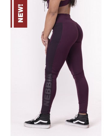 LEGGINGS PURPLE PUSH-UP...