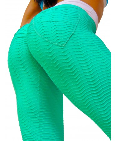 LEGGINGS PUSH UP VERDE...
