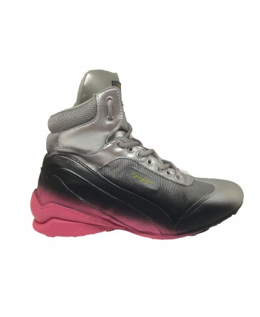 SHOE GYM SILVER BLACK AND...