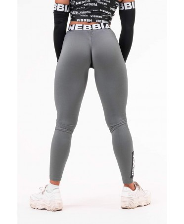 LEGGINGS PUSH-UP BLACK FOG