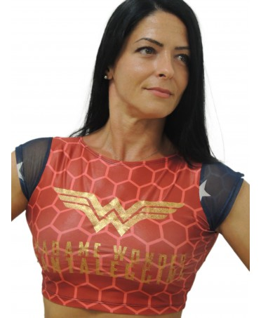 CROP TOP WONDER WOMAN...