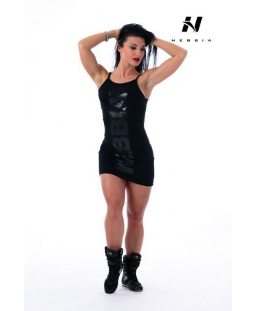 DRESS NEBBIA SUPPLEX BLACK