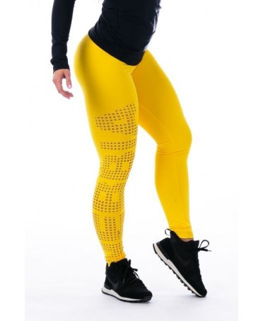 LEGGING GIALLO SUPPLEX TIGHTS LASER NEBBIA