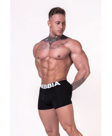 BOXER SHORTS BLACK FOG