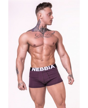 BOXER SHORTS PURPLE FOG