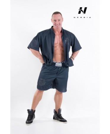 hardcore button shirt, abbigliamento uomo hardcore bodybuilding, fantallegins moda uomo,