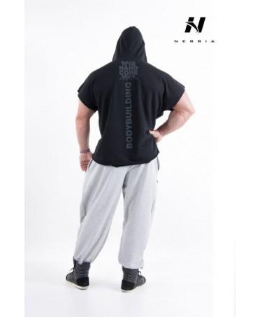 maglia smaccata in cotone 100% per bodybuilders pro. abbigliamento comodo nebbia per lo sport