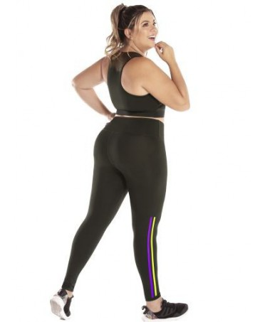LEGGINGS PLUS SIZE BLACK...