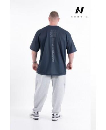 t-shirt taglie forti in cotone 100%, abbigliamento bodybuilder in cotone nebbia, canoan, la bellamafia, superhot,