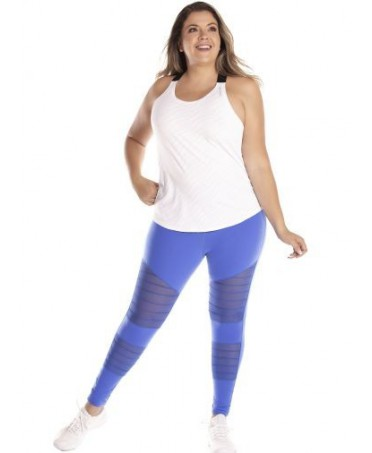 LEGGINGS PLUS SIZE BLUE...