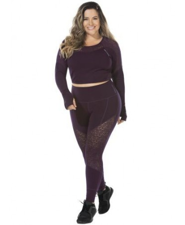 LEGGINGS PURPLE LARGE SIZES...