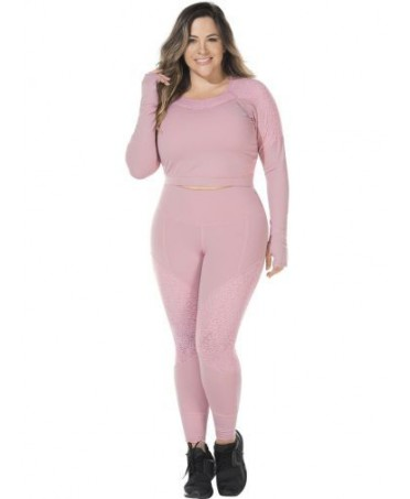 LEGGINGS PINK SIZES STRONG...