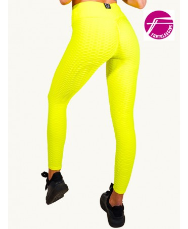 LEGGINGS MODELLANTE GIALLO...