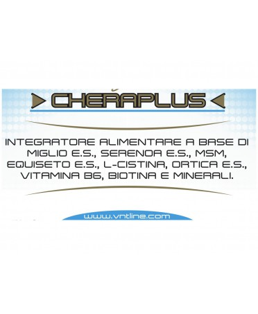 SUPPLEMENTO UNGHIE CAPELLI PELLE 120 CPR CHERAPLUS VNT LINE