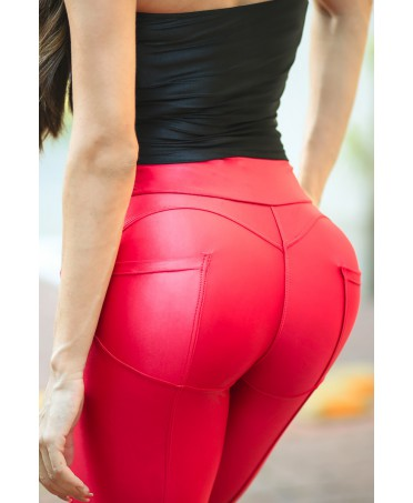 LEGGINGS PUS HUP RED APPLE...