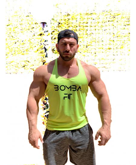 abbigliamento fitness palestra bodybuilding per palestra Canotta da uomo mimetica a taglio basso
