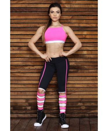 FUSO POWERFUL PINK LEGGING CANOAN