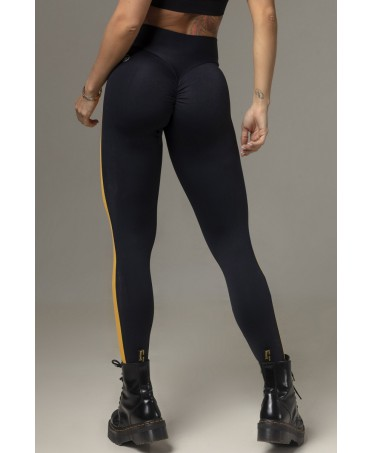 LEGGING PUSH UP NERO E...