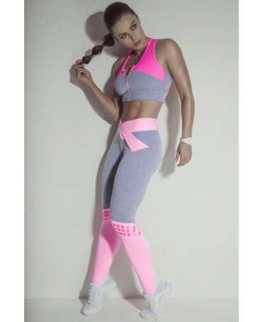 CALCA LEGGING WINNERS ROSA