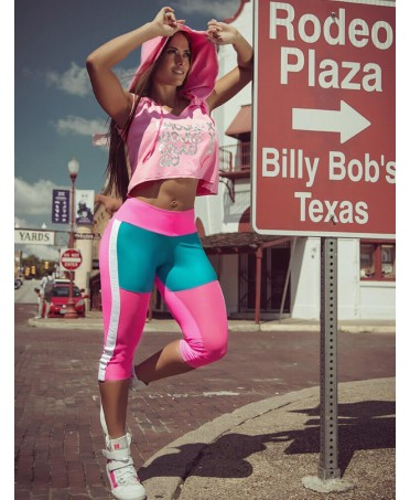 leggings, below the knee, short superhot. top can be combined.