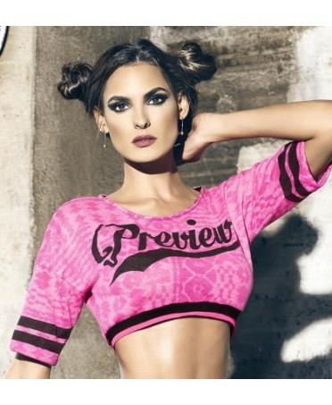 BABALU' PREVIEW TOP FUXIA