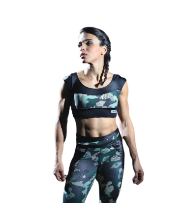 FITNESS TOP CAMOUFLAGE...