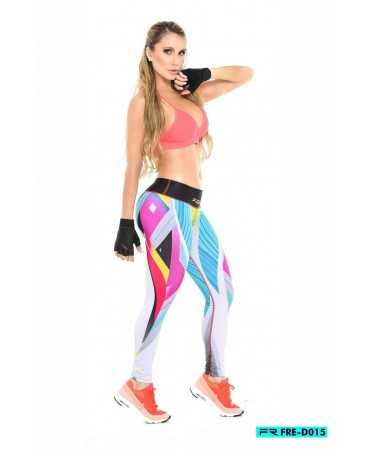 leggings one size in supplex compressivi