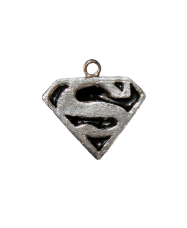 SUPERMAN PALLADIUM PENDANT