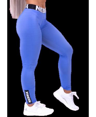 NEBBIA PUSH UP BLUE LEGGINGS