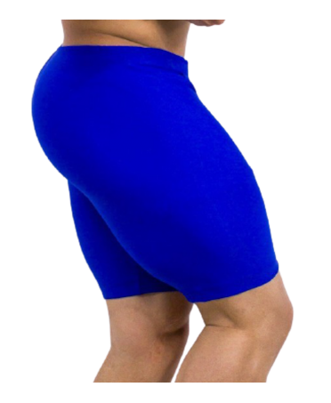 TIGHT BERMUDA FOR MAN BLUE ZNG