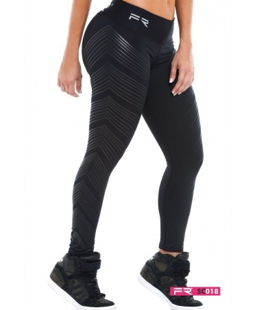 FIBER BLACK RUBBER LEGGING