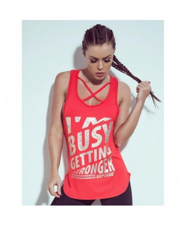 BLUSA SUPERHOT GETTING STRONGER RED