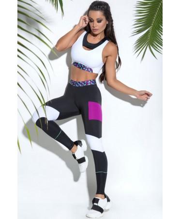 pantacollant aderente elasticizzato, contenitivo cellulite e inestetismi, abbigliamento fitness donna per allenamento,