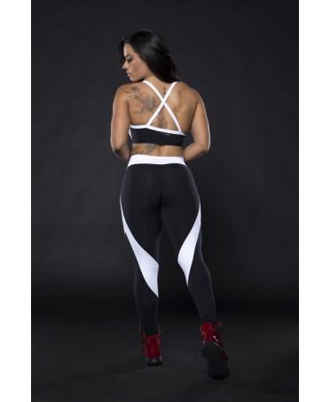 pantacollant bianchi e neri, fantalleging.com. abbigliamento sportivo acquisti on line,
