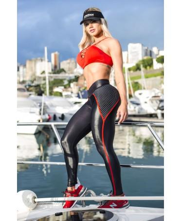 pantalone aderente elastico e contenitivo, leggig canoan, fitness wear, moda brasiliana, fantalegging,