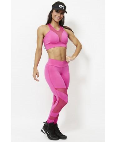 pantacalze aderenti per palestra, pink, fuxia, legging canoan, vendita online, pantacollant per fitness,