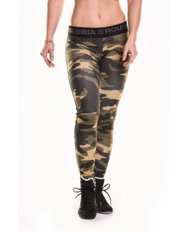 leggings military camo combi fog cotton blend leggings fashion military pants stretch, body building,