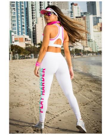 reggiseno palestra non trasparente e traspirante, top modellante e contenitivo., fantaleggins sport wear online,