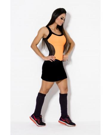 vestito corto bicolore Canoan, coppe al seno removibili,miniabito fashion di qualita',vendita abiti sportivi on line verona
