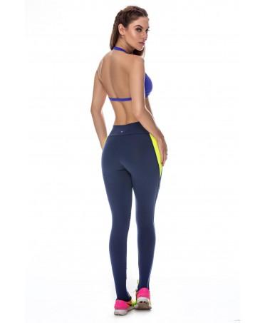 completo fitness canoan,completi da palestra donna, coordinati in supplex contenitivo,