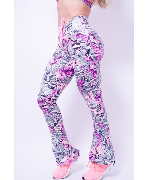 LEGGINGS BLACK AND SILVER PEOPLE FIT