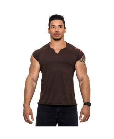 T-SHIRT BROWN BULKING