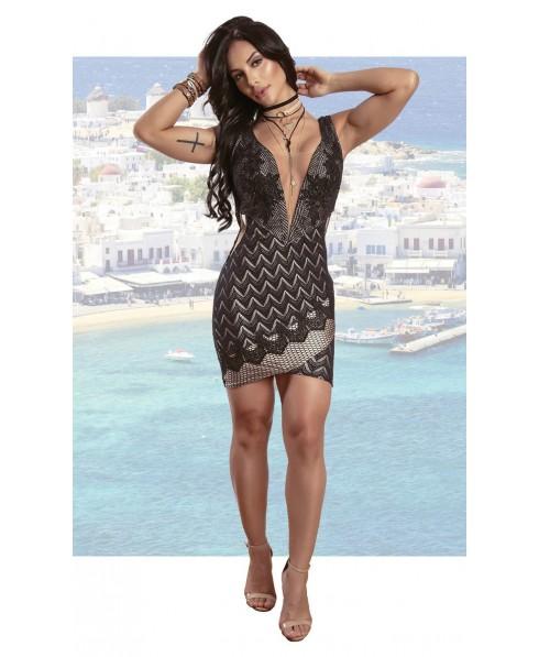 0b513c9cfd91 mini dress maxi neckline. the little black dress maria gueixa