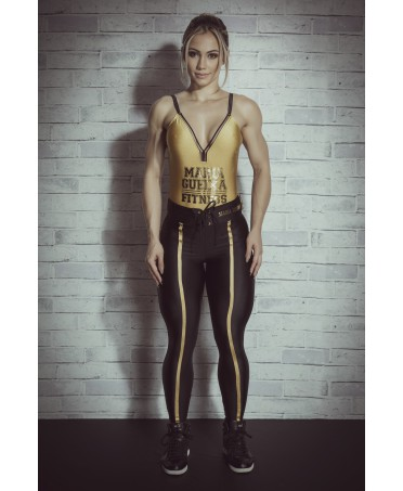 Leggings nero e oro vita alta, fashion wear shop online, fashion leggings shop online, style leggings fashion,